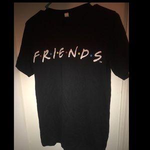 Tops - Friends tv logo show graphic tee/shirt